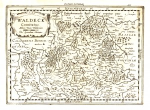 Карта Герхарда Меркатора (1630 р.)