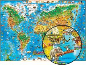 Умовні значки на карті - малюнки тварин