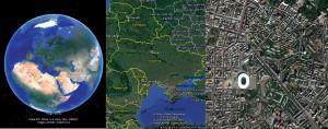 """Сучасні картографічні представлення у програмі """"Google Earth"""""""